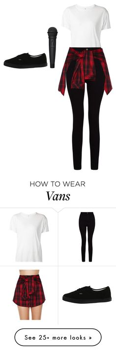 """""""Untitled #5430"""" by adi-pollak on Polyvore featuring R13, Mustard Seed and Vans"""