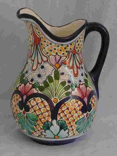 Talavera Pitcher - Mexican Connexion for Talavera Pottery [ MexicanConnexionforTile.com ] #shop #Talavera #Mexican