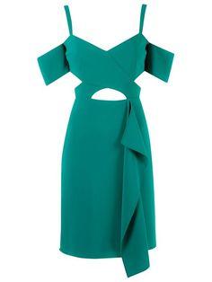 Reinaldo Lourenço cold shoulder dress