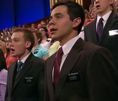 missionary elder david archuleta sings at lds general conference in march 2012