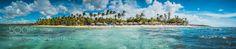 Panorama Beach Grand Bahia El Portilo by ch_fotografie  2016 Beach Panorama Meer Samana Strand Las Terrenas rx100m3 Dominikanische republik Dom Rep. Grand B