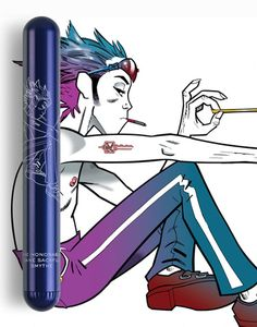gorillaz_news: Jamie Hewlett designs a collection of vibrators / erroneously reported as featuring Gorillaz