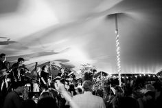 Party time in a Freestretch Stretchtent #band #festival #wedding #stretchtent #marquee #festoons #dance www.freestretch.co.uk