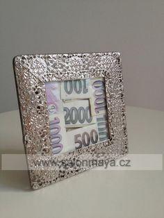 Jak vtipně darovat peníze? svatební dar   Maya