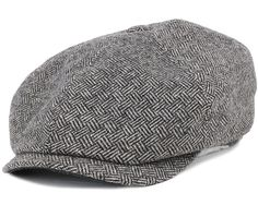 0f1ccbca77a Oregon Kennett Basket Weave Flat Cap - Stetson