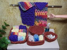 Ravelry: Miniature Bath Set for Barbie pattern by Vicki Johnson