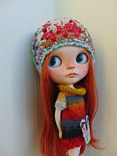 Conjunto en lana by MyBlythesCloset on Etsy
