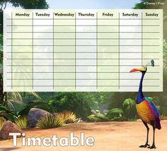 Up Timetables 03