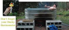 Thumbs Up for Solar Hot Tub