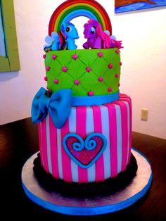 my little pony cake! — Birthday Cakes cake my little pony cake birthday party cake girl pink blue rainbow cookie cupcake