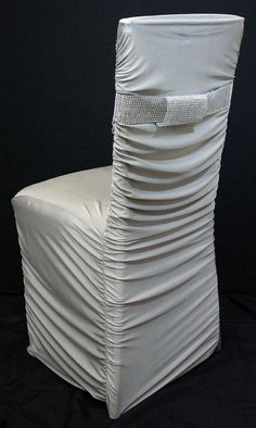black ruched chair covers swing wooden 32 best images sashes white spandex decorated with rhinestone bands optional also avail in and silver www lnique com wedding
