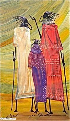 Martin Bulinya Original African Paintings