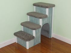 Dog-Pet-Cat-Stairs 24 High Doggie-Doggy Steps With