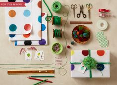 Gift Wrapping How-To's / Anthropologie #TheMagazine #Anthropologie #gifts