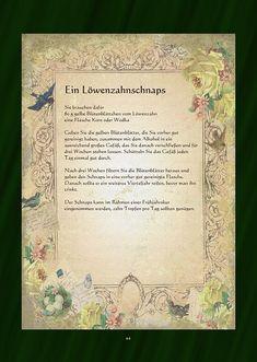 Ein Löwenzahnschnaps Taraxacum Officinale, Welcome Drink, Schnapps, Wild Nature, Herbal Medicine, Home Remedies, Health And Wellness, Herbalism, The Cure