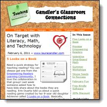 Sign up for Candler's Classroom Connections, a free bi-weekly newsletter from Laura Candler. Loads of freebies, teaching tips, and strategies in each issue! Click this pin to learn more and sign up!