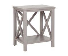 Столик - сосна - серый, 45х34х54,61 см | Westwing Интерьер & Дизайн