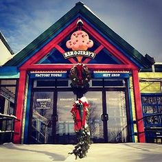 From everyone at Ben & Jerry's, Happy Holidays!