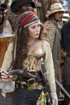 Captain Elizabeth Bonny - Anna Friel in Neverland (TV mini-series Pirate Wench, Pirate Woman, Tv Spielfilm, Female Pirate Costume, Pirate Cosplay, Foto Fantasy, Anna Friel, Steampunk Pirate, Pirate Art