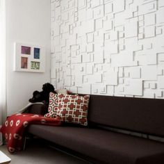 Contemporary Modern Wallpaper Texture White