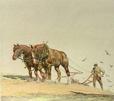 Shire Horse, Farm Art, Horse Art, Art Google, Camel, Horses, Painting, Animals, Google Search