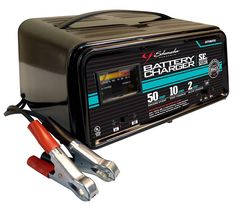 Schumacher SE-5212A 2/10/50 Amp Automatic Handheld Battery Charger Aquaponics System, Tractor Battery, Las Vegas, Lead Acid Battery, Charger, Youtube, Money, Lawn, Laptop