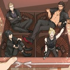 This is adorably hilarious. I want prompto lol