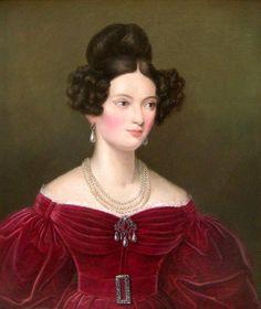 ca 1830 - Marie Ludovica Wilhelmine attributed to Joseph Karl Stieler