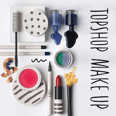 Topshop Make Up: Pure, young playful packaging Foto Still, Swatch, Best Makeup Products, Pure Products, Beauty Products, Makeup Package, Prop Styling, Makeup Photography, Product Photography