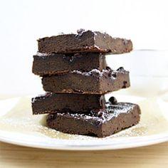 Flourless Double Chocolate Black Bean Brownies