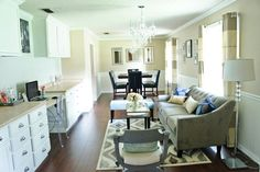 One room, multi-functional � a makeover story {dining room/home office}