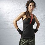 Women's Reebok LES MILLS BODYCOMBAT Long Bra Top