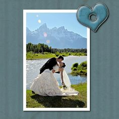 I think this cool I love mountain weddings!