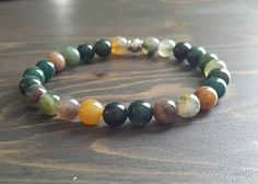Articles similaires à Bracelet en pierre agate indien sur Etsy Bracelets For Men, Beaded Bracelets, Indian Agate, Agate Stone, Stone Bracelet, Etsy, Jewelry, Bangle Bracelets, Handmade Gifts