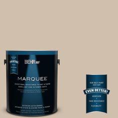 BEHR MARQUEE 1-gal. #700C-3 Pecan Sandie Satin Enamel Exterior Paint