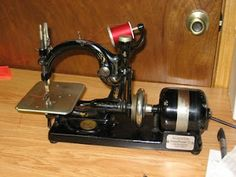 Wilcox and Gibbs chain stitch machine
