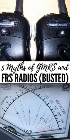 5 Myths of GMRS and FRS Radios (Busted). There are a number of different myths and sales gimmicks out there related to companies trying to sell radios. Emergency Preparedness Food Storage, Disaster Preparedness, Survival Prepping, Survival Skills, Doomsday Prepping, Emergency Kits, Ham Radio Antenna, Outdoor Gadgets, Alternative Energy Sources