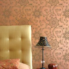 Decorate your home with Asian designs and Japanese flowers with our Kimono Floral Wall Stencils. Use these Oriental patterns on walls, floors, and furniture!