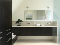 contemporary bathroom by Studio Durham Architects