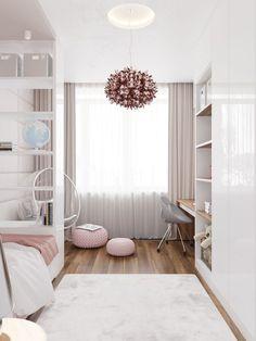 Tiny Bedroom Design, Teen Bedroom Designs, Bedroom Decor For Teen Girls, Small Room Design, Room Ideas Bedroom, Home Room Design, Small Room Bedroom, Small Rooms, Cozy Room