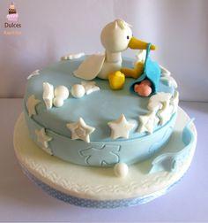 Torta BabyShower #TortaBabyShower #TortasDecoradas