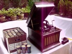 """1921 Piano Solo """"Make Believe Medley"""" by Ray Perkins, on an Edison Amber..."""