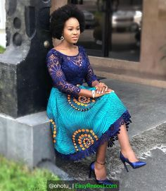 Image may contain: 1 person standing and text Latest African Fashion Dresses, African Print Dresses, African Print Fashion, Africa Fashion, African Attire, African Wear, African Blouses, Africa Dress, African Traditional Dresses