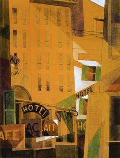 CHARLES DEMUTH  Hotel (1921)