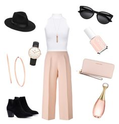 """Rosé"" by itzvictoriadinh ❤ liked on Polyvore featuring Fendi, WearAll, Lack of Color, Michael Kors, MICHAEL Michael Kors, Daniel Wellington and Christian Dior"
