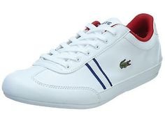 Lacoste Misano Sport Big Kids 7-30SPJ1008-21G White Shoes Sneakers Youth Sz 5