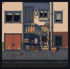 How To Pixel Art, Isometric Art, Art Tips, Art Reference, Creatures, Mansions, House Styles, 8 Bit, Twitter