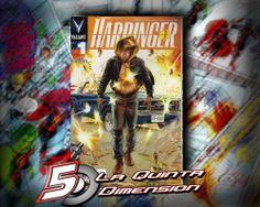 HARBINGER # 1  DE EDITORIAL KAMITE. MUY BUENA HISTORIA PARA EL RENACIMIENTO DE VALIANT. $ 30.00 Para más información, contáctanos en http://www.facebook.com/la5aDimension