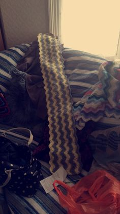 Ripple stitch baby blanket no. 2