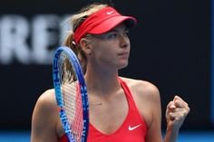 Maria Sharapova sends Eugenie Bouchard packing, moves into the semi-finals